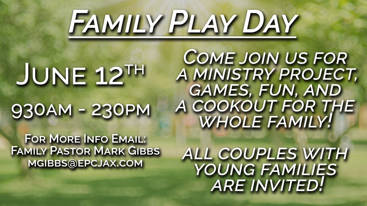 YOUNG FAMILIES DAY