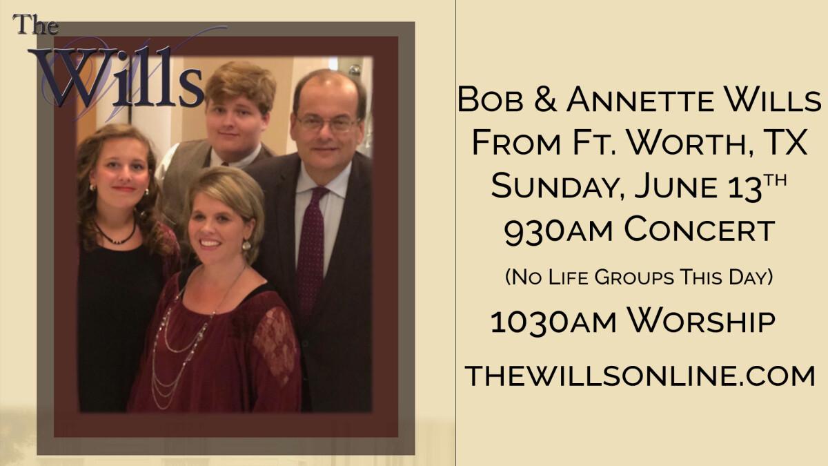 Bob Wills Gospel Group
